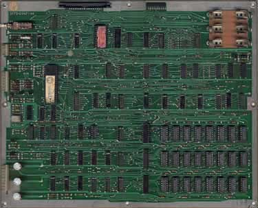 View a high resolution image of the Early Series Defender CPU Board