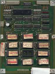 View a high resolution image of the Early Series Defender ROM Board