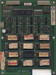 View a high resolution image of the Later Series Defender ROM Board