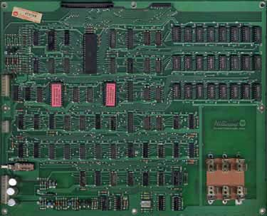 View a high resolution image of the Later Series Defender CPU Board