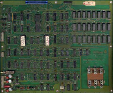 View a high resolution image of a typical CPU Board for other games (layout may vary slighty depending on revision)
